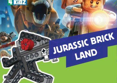 Jurassic Brick Holiday Programme Theme